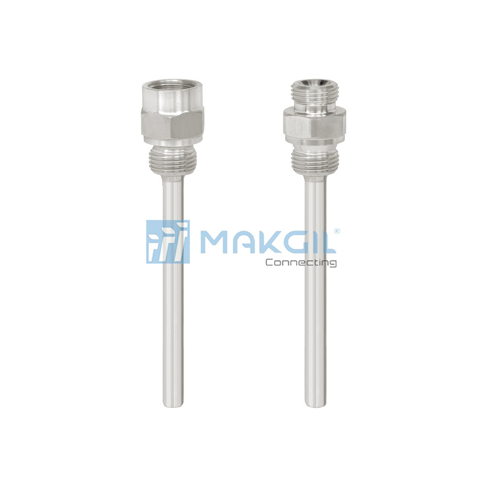WIKA TW45 - Ống thermowell dạng trục vít (Screw-in thermowell) hãng WIKA/Germany