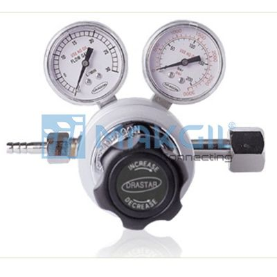 DR60-CO2 WELDING - Đồng hồ CO2 (CO2 Welding Gas Regulator) hãng Drastar/Korea