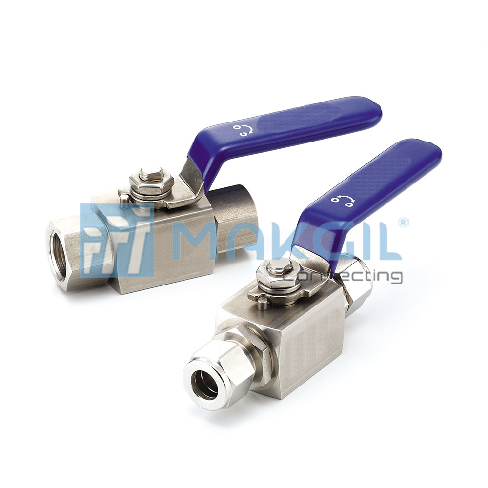 VB6B series – Van bi áp lực cao (High Pressure Bar-stock Ball Valves) hãng UNILOK/Korea