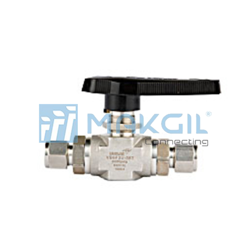 VB6F series – Van bi áp lực cao (2 way shut-off High Pressure Ball valve) hãng UNILOK/Korea
